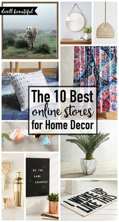 Awesome The 10 Best Online Stores For Home Decor Check Out These Awesome Shops, Get  Online Part 31