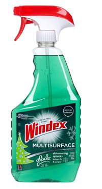 Windex® Multi-Surface with Glade® Shimmering Spruce™