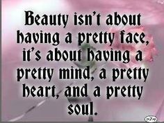 Beauty is about more than a pretty face...