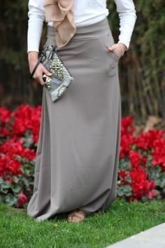 Collection Jupes Longues - Vêtement fashion pour femme musulmane (2) -  Mayssa 948ec5a98201