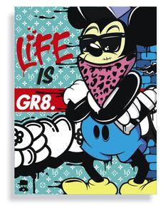 Big Mike. Life is Gr8 by Oleg Gontarev, via Behance