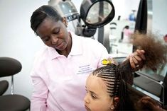 Who knew that a black hair salon could create a lot of buzz — especially in a country where most of its patrons are not black. Description from blackgirllonghair.com. I searched for this on bing.com/images
