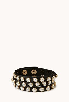 Pretty-Tough Wraparound Bracelet | FOREVER21 - 1060344014