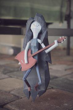 Isso é legal do dia: Papercraft dos personagens de Adventure Time | ROCK'N TECH