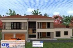 6 Bedroom House Plans, Family House Plans, House Floor Plans, Dream Homes, My Dream Home, Future House, My House, Double Storey House Plans, 2 Storey House Design