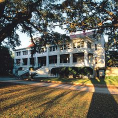 Greyfield Inn,   Cumberland Island, Georgia  If you like packing your finest evening wear along with your bathing suit, this grand old Southern inn will give you occasion to wear both. Sit on the porch of your cottage and sip a cocktail as the sun drops into the Spanish moss. Facilities are limited on the island, so the inn is your go-to for meals, guides, and any other services.