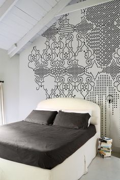 Awesome Black Painted Walls Bedroom