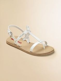 Prada...designer sandals