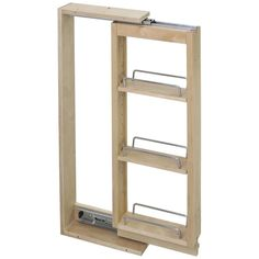 """3"""" x 11-1/8"""" Wall Cabinet Filler Pullout"""