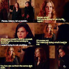 """Regina, Cora and Zelena - 5 * 19 """" Sisters """""""