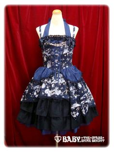 """""""Night Fairy Fantasia"""" Jumper Skirt I in Dreamy Planet by Baby, The Stars Shine Bright (BTSSB)"""