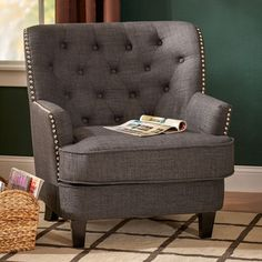 FREE SHIPPING! Shop Wayfair for Three Posts Porter Club Chair - Great Deals on all Furniture products with the best selection to choose from!