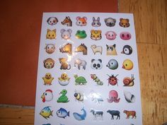 New Facebook emoticons stickers 5 of 6