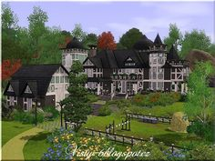 Victorian ranch by Vlasta - Sims 3 Downloads CC Caboodle