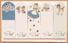 Disney Alice Dumbo fairy tale Post-it bookmark sticker