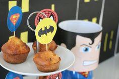 Une «Super Héros Party» pour ses 4 ans Captain America, Breakfast, Party, Food, Morning Coffee, Essen, Parties, Meals, Yemek