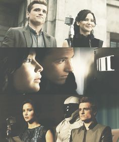They also both share in the aftermath of The Hunger Games, having to face the families of the fallen competitors. They both know what it is like to be in the area and what it's like to survive afterwords. This brings them closer together.