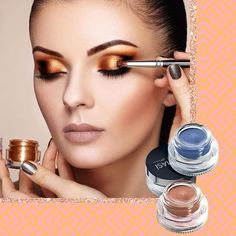 Lasting makeup, Gel shadows that turn to powder. Beauty Makeup, Eye Makeup, Beauty Tips, Farmasi Cosmetics, Body Shop At Home, Beauty Consultant, Cream Eyeshadow, Summer Makeup, Gorgeous Makeup