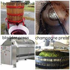 different types of wine presses