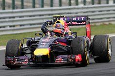 Daniel Ricciardo Red Bull - Renault Hungaroring 2014