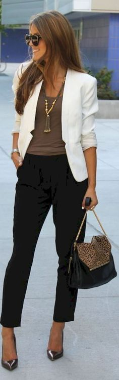 Look Good Casual Chic Summer Outfits For Women Business 05 Casual Work Outfit Summer, Chic Summer Outfits, Casual Chic Summer, Summer Outfits Women, Work Casual, Casual Fridays, Outfit Work, Winter Outfits, Best Business Casual Outfits