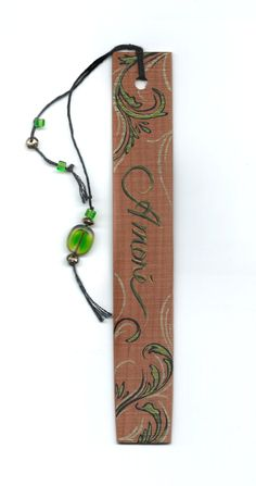 These cedar wood bookmarks are made from Missouri cedar, hand painted, and personalized to your expectations. Choose a design from something