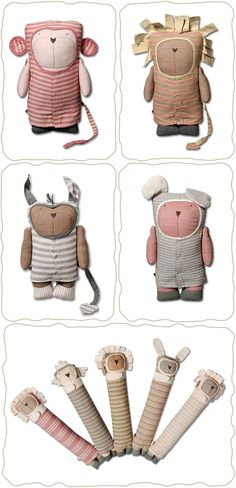 Handmade Toys, Softies, Dolls, Eco-friendly, Fair Trade by Jees