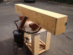 building a steam box for bending wood