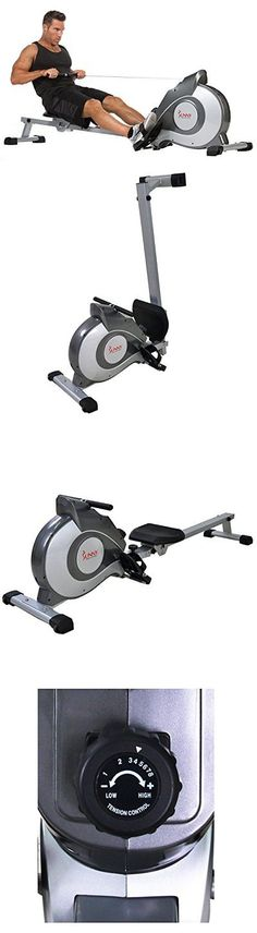 Rowing Machines 28060: Sunny Health And Fitness Sf-Rw5515 Magnetic Rowing Machine Rower W Lcd Monitor -> BUY IT NOW ONLY: $295.97 on eBay!