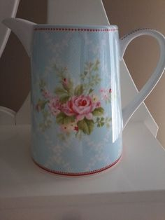 GreenGate DK  Amy Pale Blue Jug 1 liter #GreenGateDK