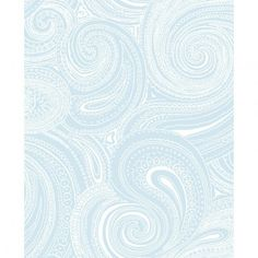 York Wallcovering Blue Book Paisley Swirl Wallpaper AP7476-  #homedecor #home #forthehome #decor #design #wallpaper #decorate #inspiration #homeinspiration