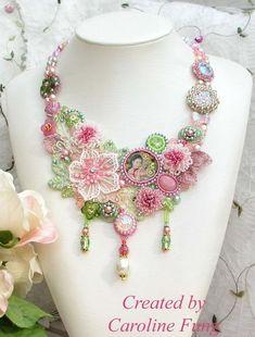 Jewelry jorney of Caroline Fung.  See more on beadsmagic.com
