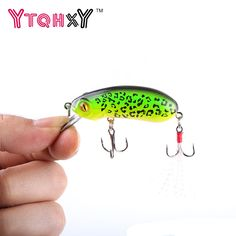 1Pcs 6cm 10g Fishing Lures Crank bait Swimming Crank Baits Artificial Swim bait Wobblers Fish Tackle YE-244 #Affiliate