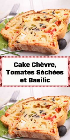 Cake Chevre Tomate, Sandwich Cake, Sandwiches, Meat Recipes, Entrees, Food To Make, Buffet, Brunch, Four