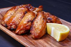 Cooking Coke Chicken Wings is now made easy with this recipe! See the ingredients and cooking instructions here. Teriyaki Chicken Wings, Grilled Chicken Wings, Easy Chicken Wing Recipes, How To Cook Chicken, Recipe Chicken, Coke Chicken, Sticky Chicken, Glazed Chicken, Garlic Wings