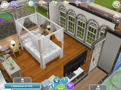 The Sims Freeplay Details Bedroom