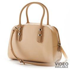 PAVA Leather Convertible Satchel