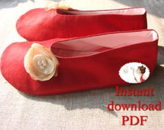 Sewing Shoes Pattern. Women's. Loafer. by LenasShoePatterns