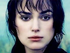 Scenes from Pride and Prejudice (2005) Keira Knightley as Elizabeth Bennet in this film adaptation of the novel by Jane Austen