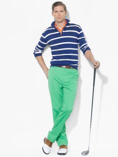 Links-Fit Pant - Polo Golf Chinos - Ralph Lauren.  LOVE the color