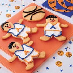 Butterscotch Basketball Cookies Recipe from Taste of Home