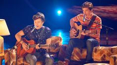 "Alex Preston and Sam Woolf teamed up to perform ""Let Her Go"" by Passenger. See more: http://idol.ly/1nebnkX"
