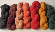 dyed by alfinete _ Portuguese yarn
