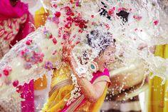 Perfect click of Haldi ceremony