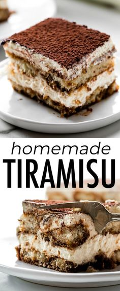 How to make Maida Heatter's famous tiramisu! This unbelievably creamy and rich l. - How to make Maida Heatter's famous tiramisu! This unbelievably creamy and rich layered tiramisu c - Dessert Cannoli, Tiramisu Dessert, Oreo Dessert, Pumpkin Dessert, Pumpkin Cheesecake, Best Tiramisu Recipe, Homemade Tiramisu, Mini Desserts, Easy Desserts