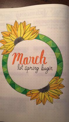 Spring please come faster #bulletjournal