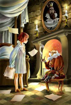 Сообщество иллюстраторов / Иллюстрации / Сергей Самсонов / Баум Нищий принц