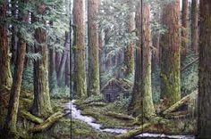 Studio KD - Artwork of Karel Doruyter, West Coast Rainforest II Series