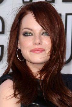 Gorgeous hair, with eye colour!