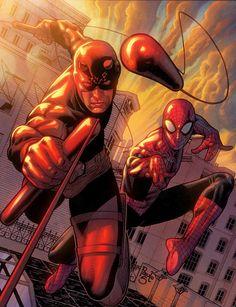 Spider-Man and Daredevil by ~RyanLord on deviantART